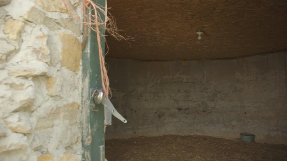 A stone house sheep shed turned tiny home