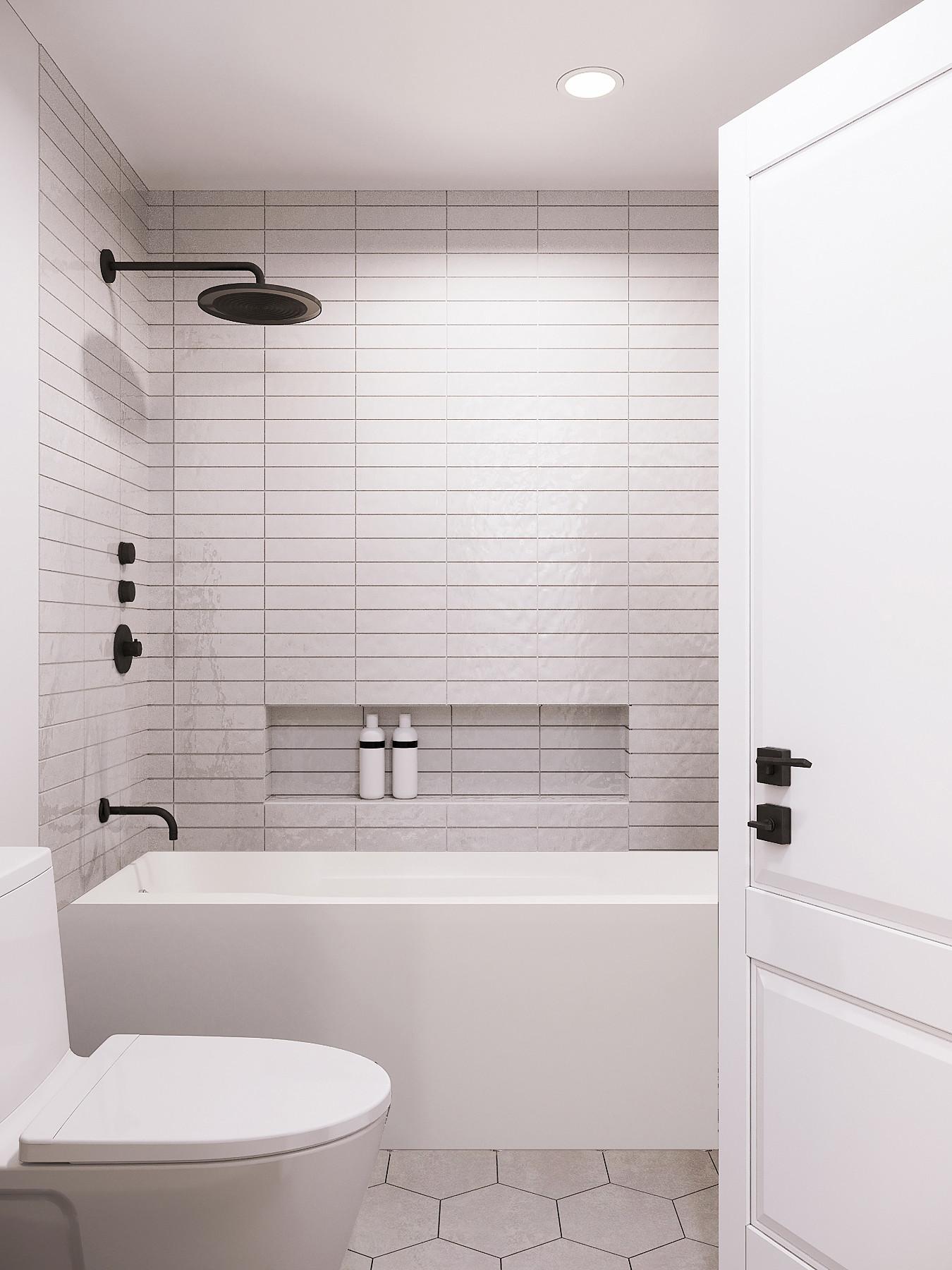 Home Remodel Saratoga - Kids Bathroom