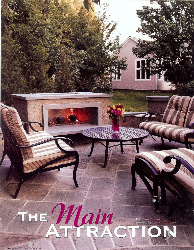 Kansas City Homes and Gardens Magazine Feature Oct 2008