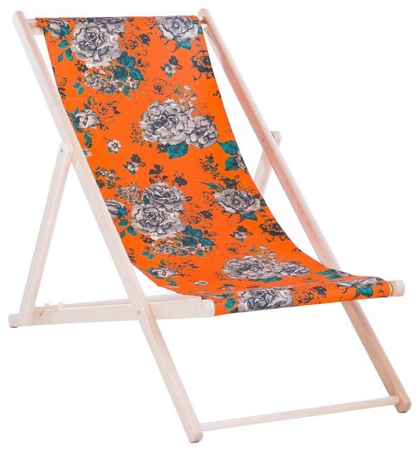 Vent De Boheme vent de boheme aimi deckchair - traditional - outdoor folding chairs