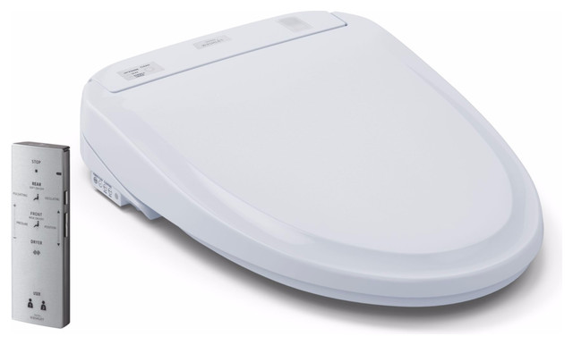 Toto Washlet S350E Elongated Bidet Toilet Seat With Auto Open And Close