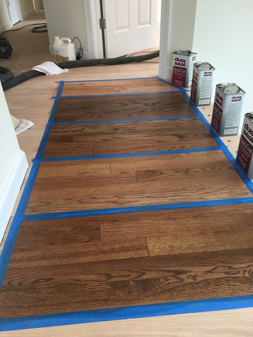 Need Help Deciding On Stain For Red Oak Floors