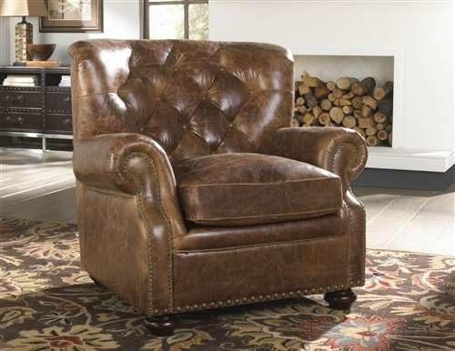 Lazzaro Louis Leather Chair Coco Brompton Traditional Armchairs And Accent Chairs By Beyond S