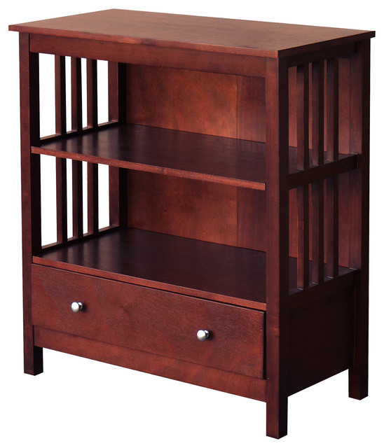 Dorman Bookcase With Drawer.