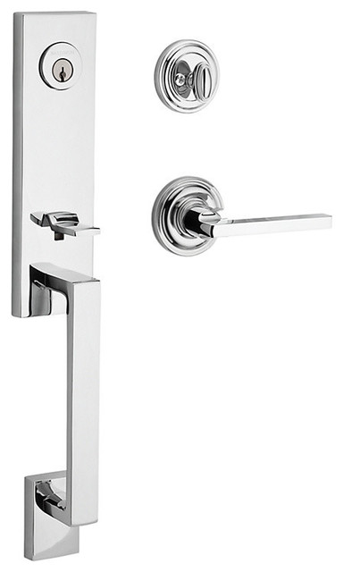 Baldwin Hardware Baldwin Reserve Seattle Handleset Square Lever Polished Chrome Reviews