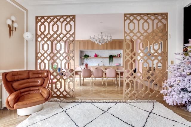 Projet Varenne Architectes d'intérieurs : Margaux Meza et Carla Lopez moderne