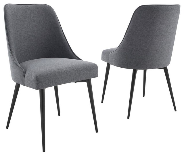 Peachy Steve Silver Colfax Side Chair Charcoal Set Of 2 Pdpeps Interior Chair Design Pdpepsorg