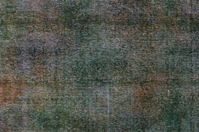 Distressed Overdyed Ariadna Charcoal Rug