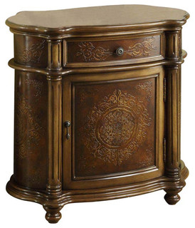 Bombay Cabinet, Light Brown - Traditional - Accent Chests And Cabinets ...