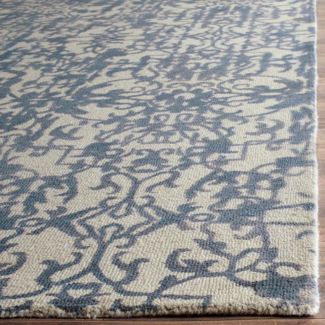 Safavieh Restoration Vintage Area Rug, Ivory/blue, 8&x27;x10&x27;.