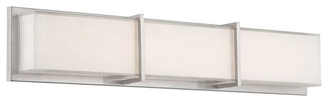 Modern Bathroom Vanity Lights bahn led bath and wall light - modern - bathroom vanity lighting