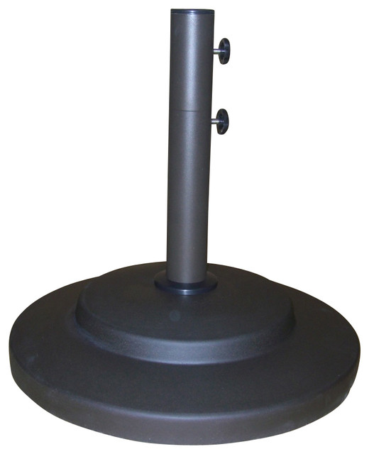 Umbrella Base Stand With Wheels Contemporary Outdoor Umbrella Accessories