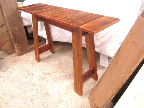 NEW ZEALAND RIMU Hall Tables