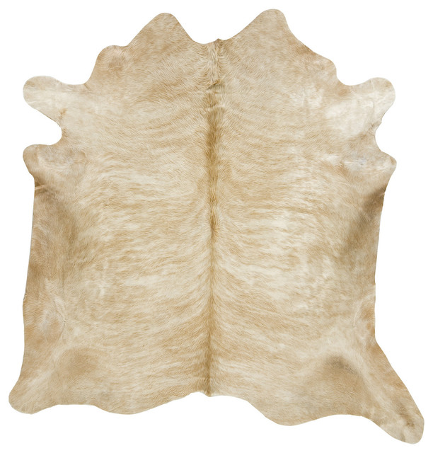Light Brown Brindle Cowhide Rug Xl