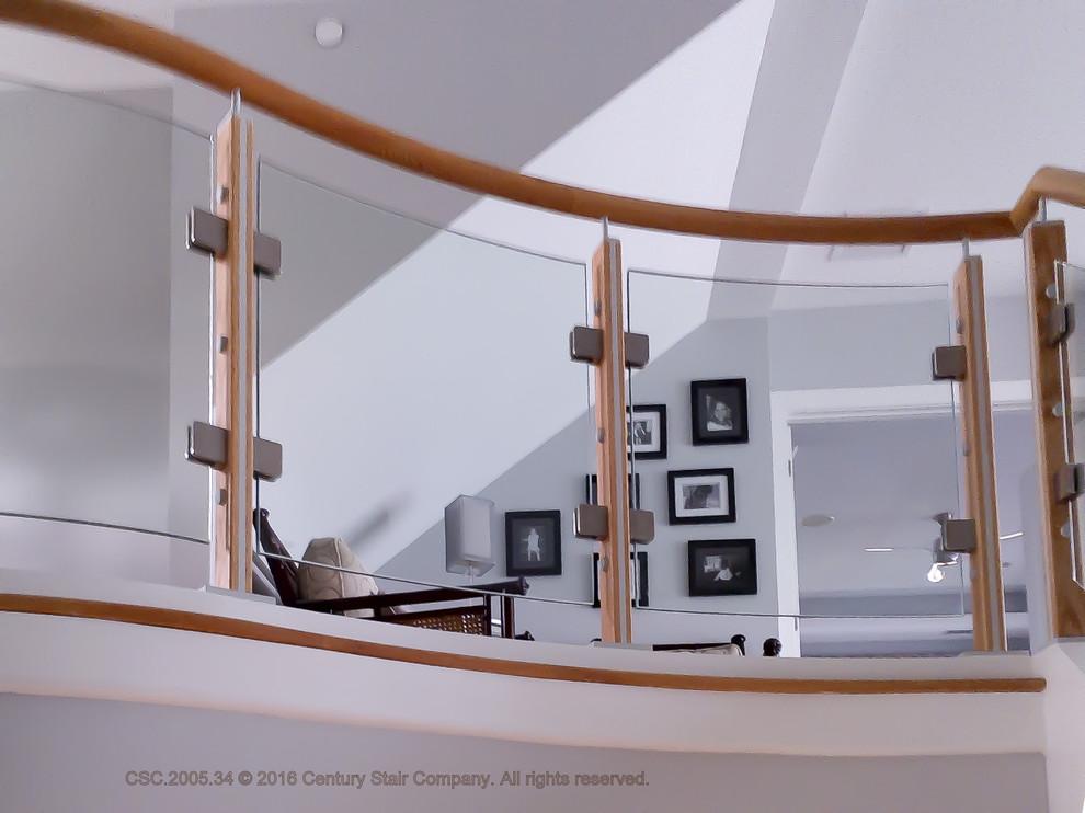 10_Modern Glass Stairway, Rockville, MD 20850