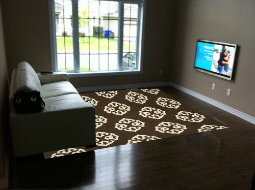 area rug for living room right size. Black Bedroom Furniture Sets. Home Design Ideas