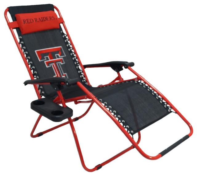 texas tech red raiders zero gravity chair chairs