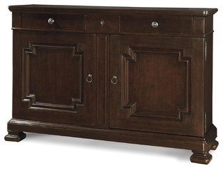 Proximity Cherry Wood Dining Room Credenza Buffet - Traditional - Buffets And Sideboards - by ...