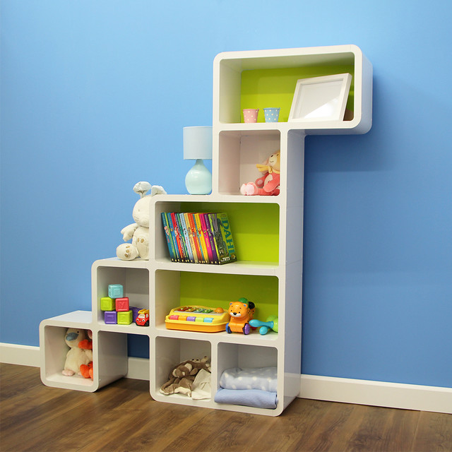 Dinosaur Shape Kids Bookcase - Contemporary