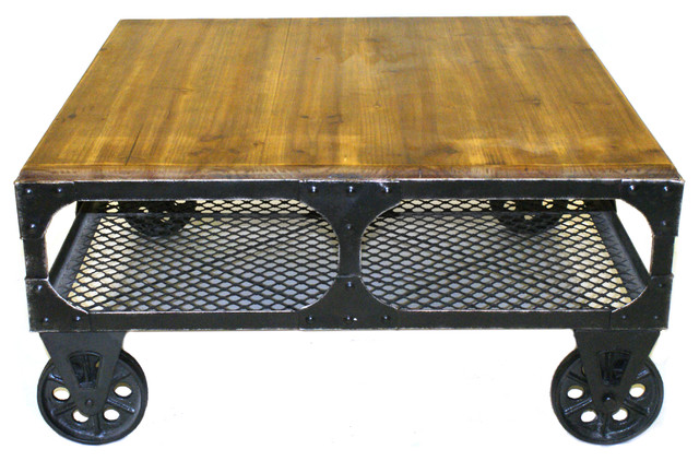 Cool Industrial Coffee Tables by Pangea Home