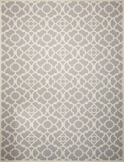 Nourison Waverly Sun&Shade SND04 Gray, Easy to Clean Indoor Outdoor Rugs