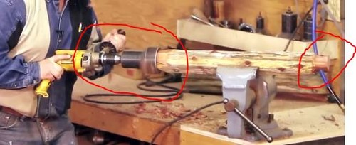 I Am Looking To Make Log Furniture. Where Do I Buy This Tool.