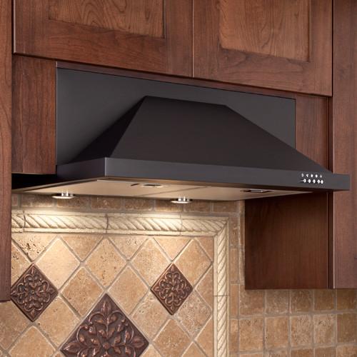 "- 30"" Artisan Series Stainless Steel Black Under-Cabinet Range Hood - 600 CFM & Reviews   Houzz"