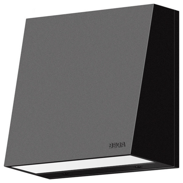 LED Directional Wall Luminaire, Graphite