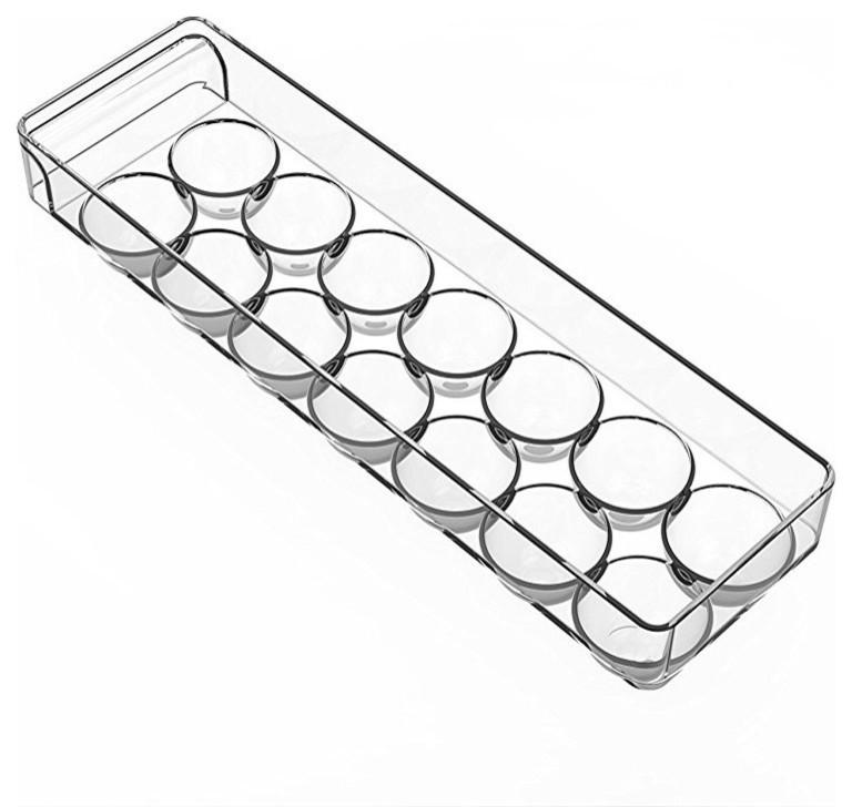 Kitchen Organizer Refrigerator Food Egg Storage Box Fridge Rack New Shelf M1J3