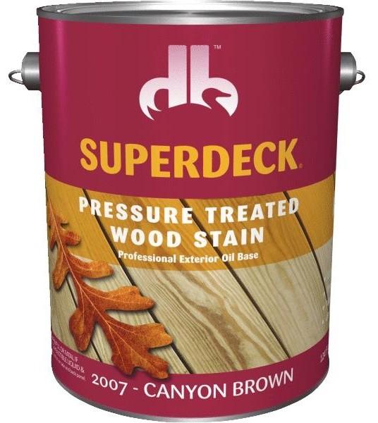 Superdeck Transparent Pressure Treated Wood Exterior Stain