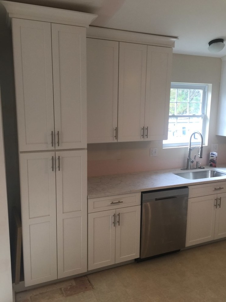 Complete Kitchen Remodel - Very Happy Customer!