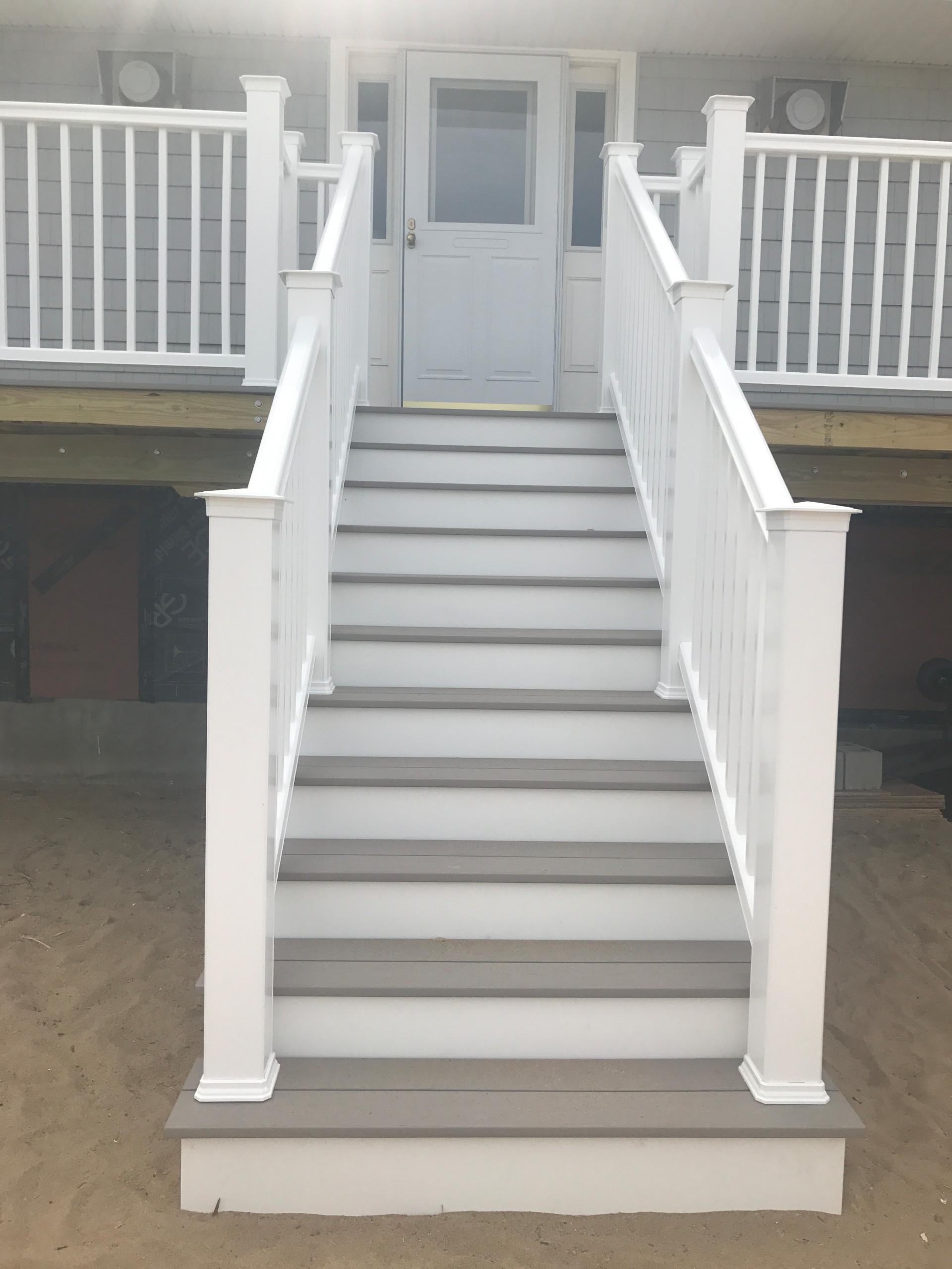 Ocean Front Deck Build
