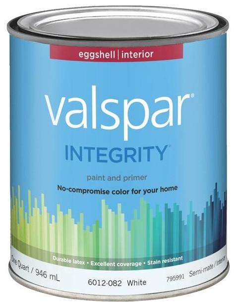 Valspar Integrity Latex Paint And Primer Eggshell Interior Wall Paint Paint By Hipp Modern