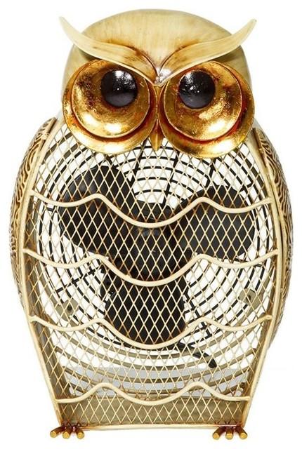 Figurine Fan, Snow Owl.