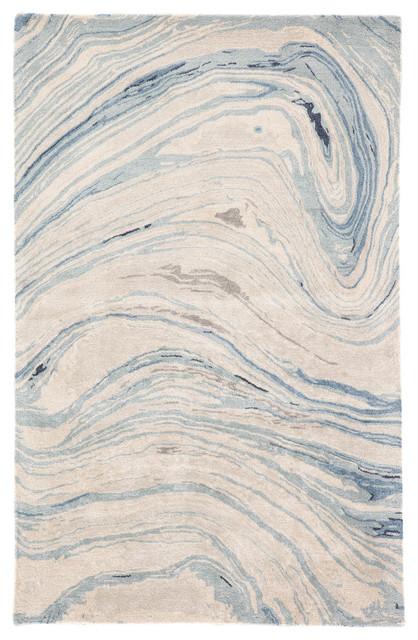 Jaipur Living Atha Handmade Blue/gray Rug, 9&x27;x13&x27;.