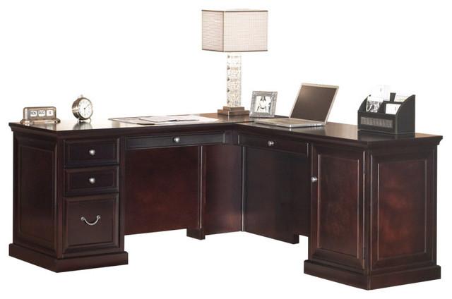 Patterson L-Shaped Desk.