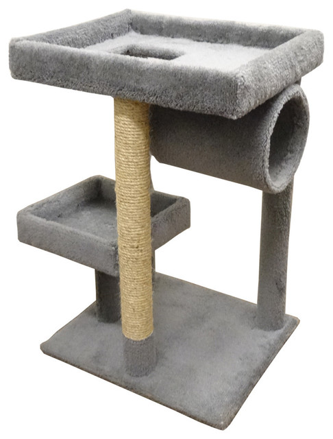 New cat condos premier cat lounger contemporary for Cat chaise longue