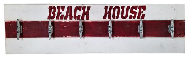 Beach House Coat Rack Lifeguard Version.