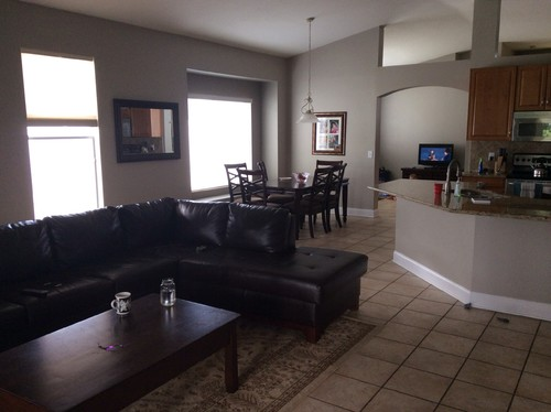 Need Help For Our Grand Living Roomkitchen And Breakfast