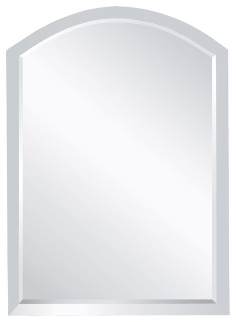 Herbron Arched Mirror Contemporary Bathroom Mirrors By Designer Lighting And Fan