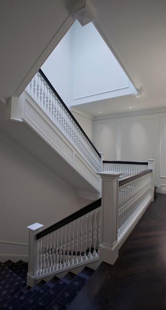 Grand stair classico scale chicago di dspace for Arredare pianerottolo scale