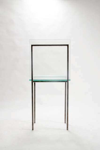 Design and Fabricate Custom Steel and Glass Table and Chair