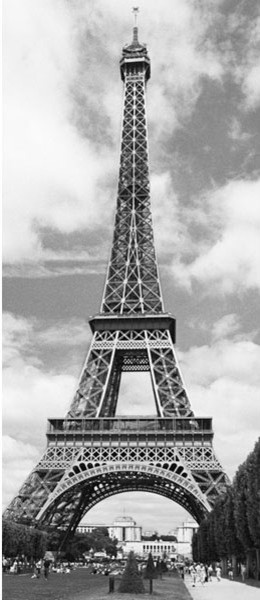 Brewster DM524 Eiffel Tower Wall Mural Contemporary Wallpaper