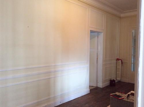 Couloir dans appartement années 40