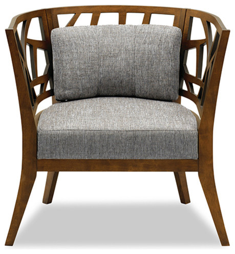 Jennifer Barrel Chair