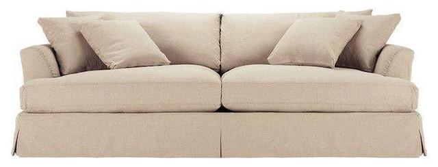 Arhaus Emory Grand Slipcovered Sofa
