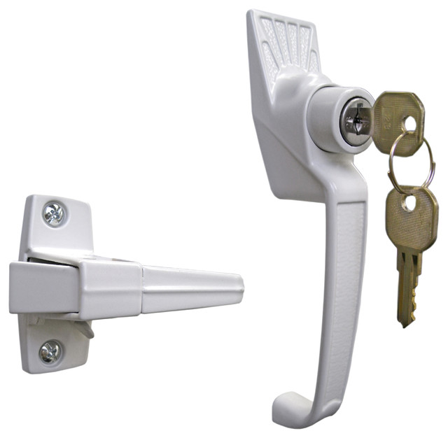 Pushbutton Lock Keyed - Door Locks - by Ideal Security Inc.