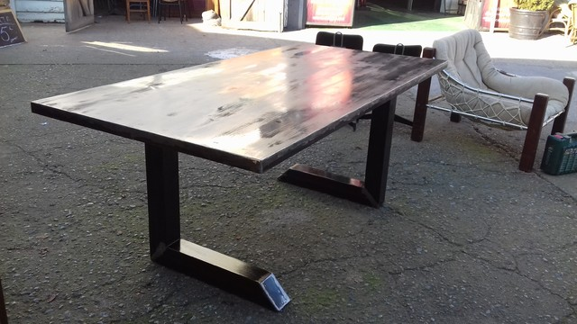 Design and Fabricate a Custom, Steel, Dining Table