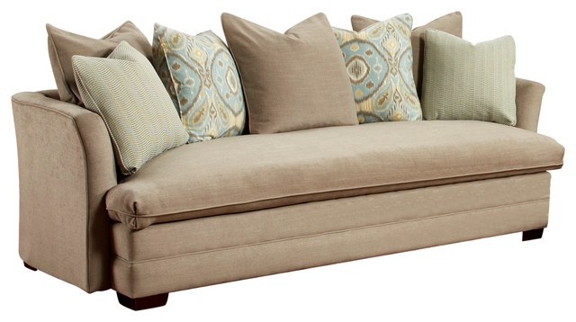 Laney Camel Sofa Transitional Sofas By Myco Furniture