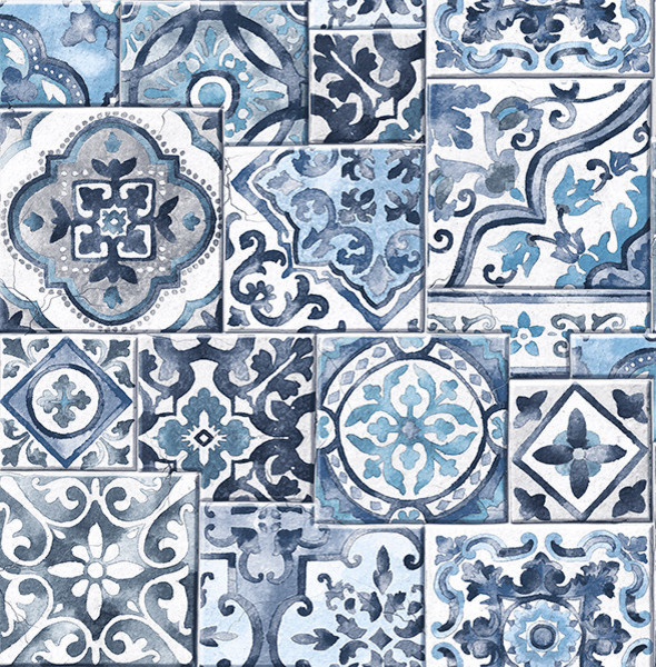 marrakesh moroccan tile wallpaper mediterranean